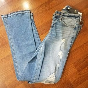 Womens size 1R Hollister Low rise bootcut jean